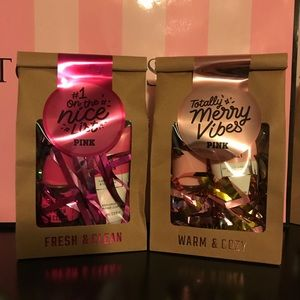 PRICE FIRM 2 NEW PINK VS gift sets